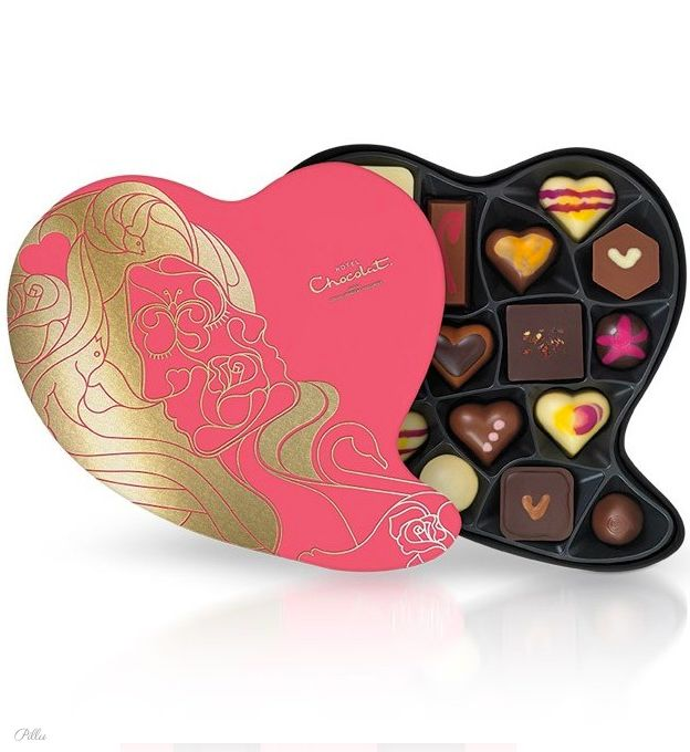 Valentine's Day chocolates / Hotel Chocolate #chocolate #valentine PD