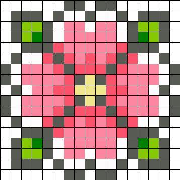 Flower by Ninie on Kandi Patterns