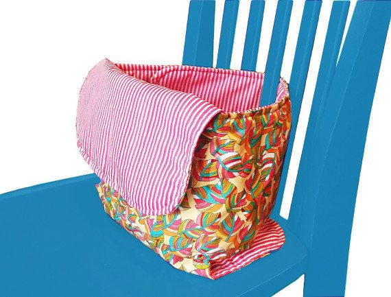 Travel Chair, Fabric High Chair, Anywhere Chair, Portable High Chair by TheGoldElephant on Etsy https://www.etsy.com/listing/230841880/travel-chair-fabric-high-chair-anywhere
