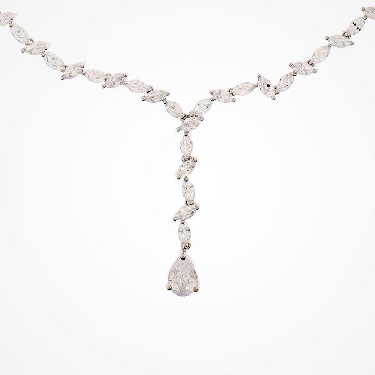 Andorra cubic zirconia necklace (liberty in love)