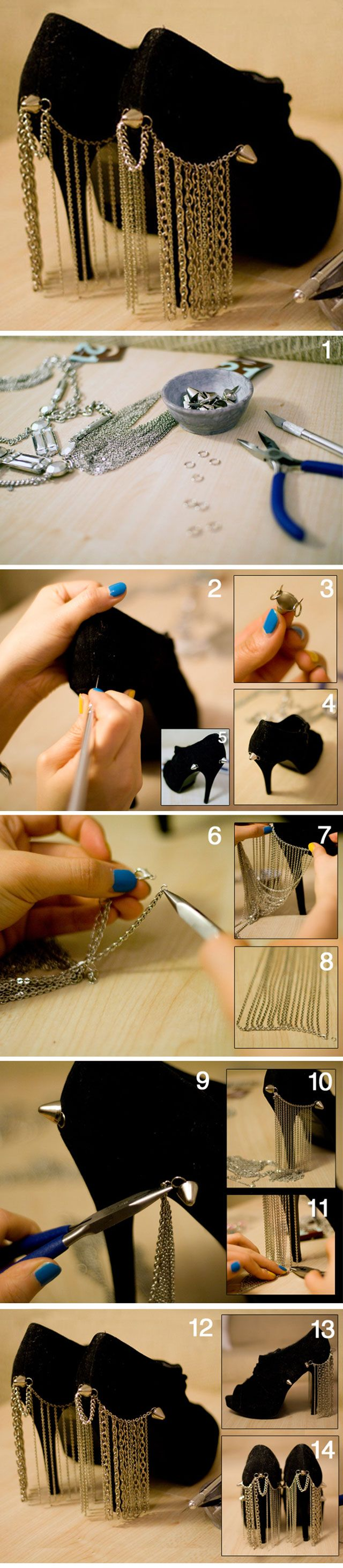 Swesome, DIY for the most expensive looks, must check this out. Even if you are not crafty , YOU CAN DO THESE!!! ANDY MANY MORE!!!!!