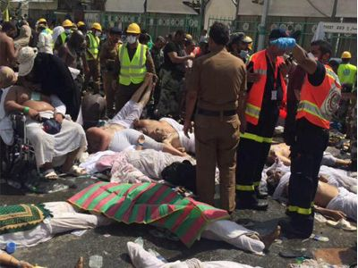 Mecca Stampede 150 Dead, 500 Injured  http://www.apnewscorner.com/news/political/details/12254/latest/Mecca-Stampede-150-Dead-500-Injured.html