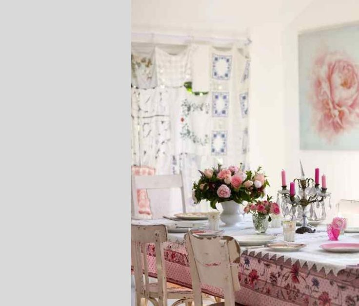 Romantisch dineren in een romantische eetkamer! - Makeover.nl