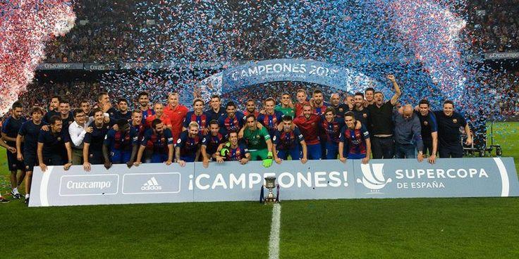 Barcelona Juara Supercopa de Espana 2016