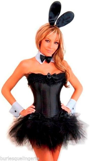 innovative playboy themed party outfits 12