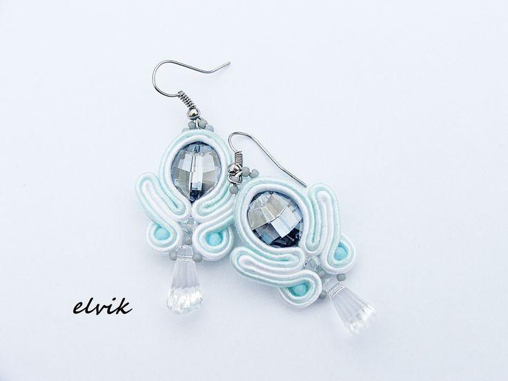 kolczyki ULU/ ULU earrings  FB - http://www.facebook.com/soutache.elvik