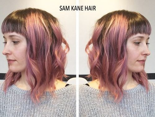 20 best hairz for laura images on pinterest plaits hairstyle 31 brown hair with pastel pink highlightsg pmusecretfo Choice Image