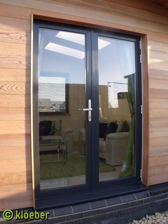 The 25 best aluminium french doors ideas on pinterest for Single exterior patio door