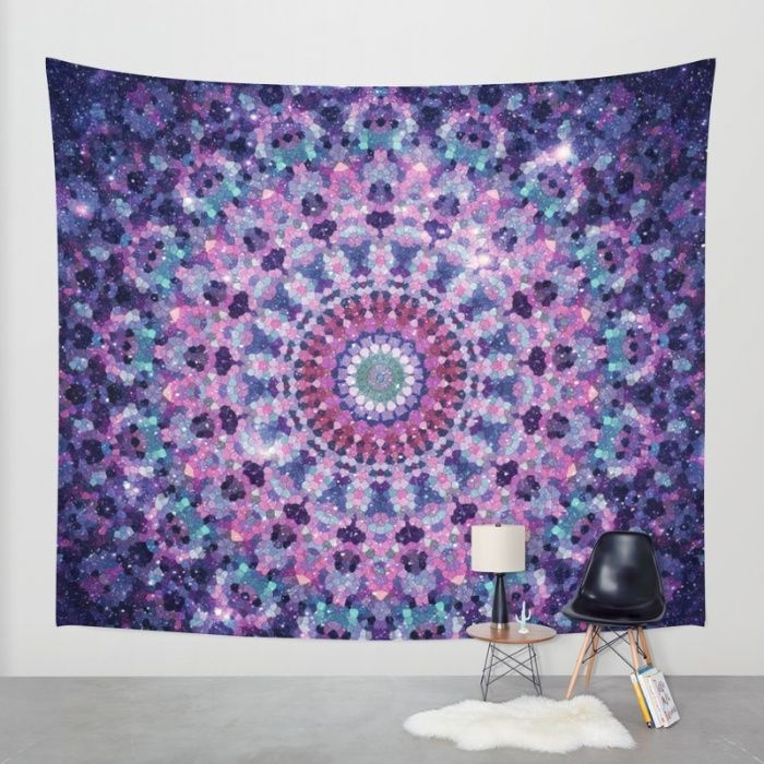 Buy ARABESQUE UNIVERSE Wall Tapestry by Monika Strigel. Worldwide shipping available at Society6.com. Just one of millions of high quality products available.