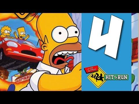 Lets Play The Simpsons Hit and Run: Part 4 - Wolves Stole My Pills