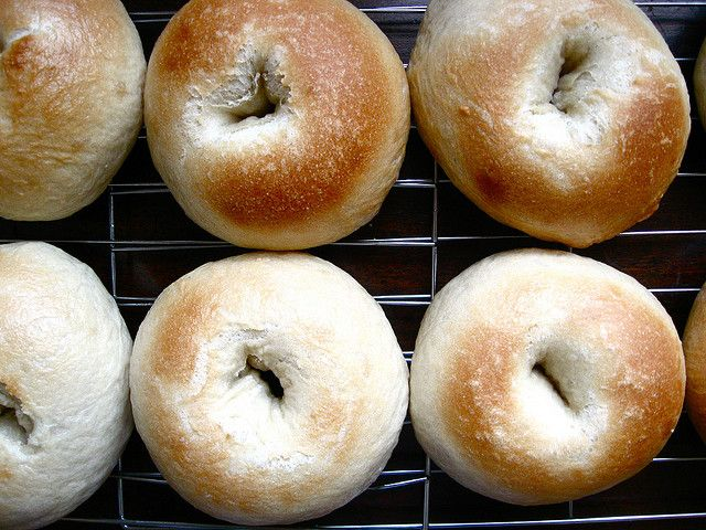 New York-Style Bagel Recipe--these are fantastic! Terrific Sunday treat.