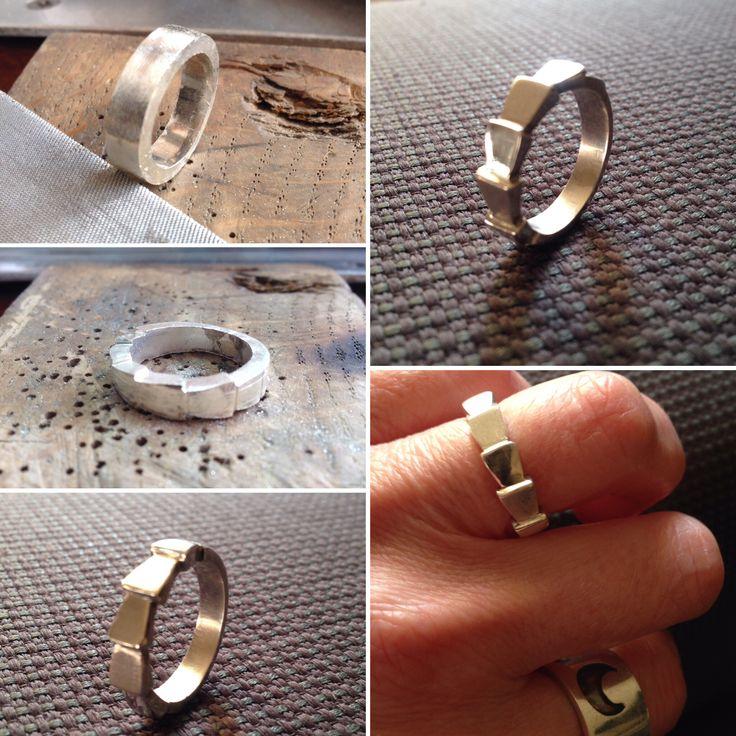Técnica de limado en anillo de plata! :)