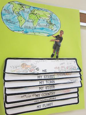 Me on the Map projects...might be the cutest thing I've ever seen!