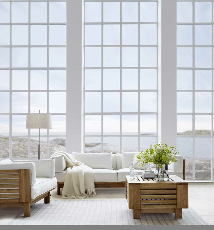 Modern windows absolutely flawless just make sure you put a sun film on them so the reflection isnt too harsh on your all eyes are on your furniture