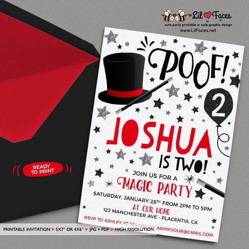 142 best Magician Party images on Pinterest Magician party