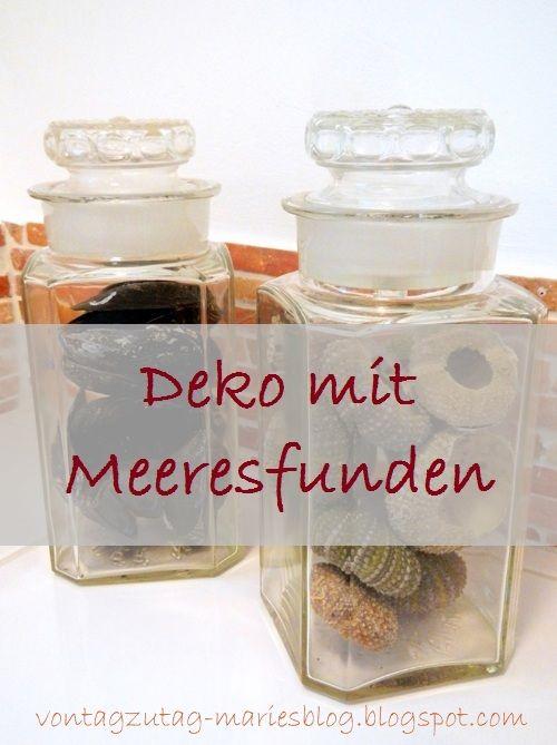 Von Tag zu Tag - Maries Blog: Nippes und Sammlungen - Meeresfunde im Badezimmer