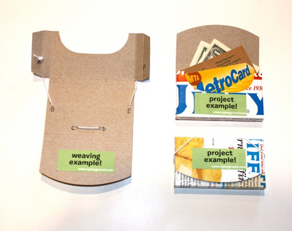 Cereal box wallet coupon holder the arts of for Diy cereal box