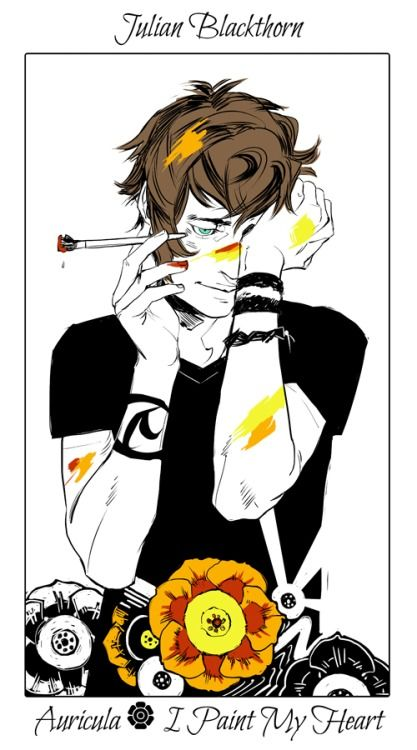 Julian Blackthorn. Can I just say I can't wait for The Dark Artifices to come out? #TDA #JulianBlackthorn