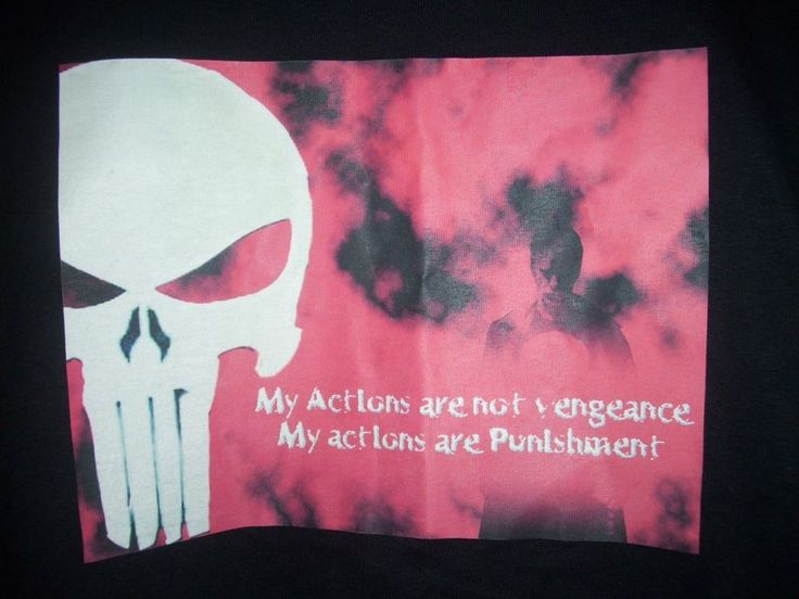 Punisher T Shirt Marvel Comics Men's Large  Not Vengeance Puishment  #Marvel #GraphicTee