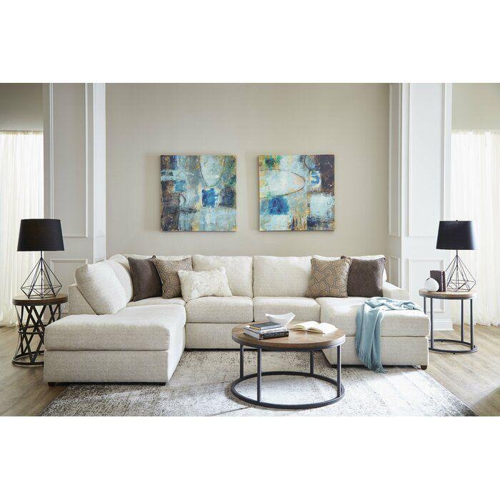 Brayden Studio Niagara Left Hand Facing Sectional Reviews Wayfair Sectional Furniture Sectional Sofa