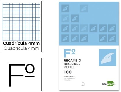 Recambio de anillas Liderpapel 60 g/m2 - 100 hojas  http://www.20milproductos.com/catalog/product/view/id/14122/s/recambio-de-anillas-liderpapel-60-g-m2-100-hojas/category/2/