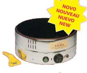 Máquinas de Crepes - Máquina de Crepes Elétrica CR 2082 // Lendas Sublimes - Produtos Gourmet