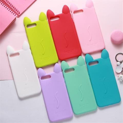Cute Soft Silicone Case For Iphone 5 5s Se 6 6s 7 8 Plus Cartoon