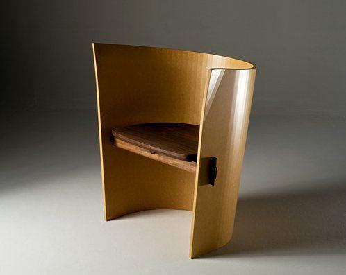 Seating from IFDA 2008 » CONTEMPORIST...Low Swivel Lounge by Nicholas Dodziuk US