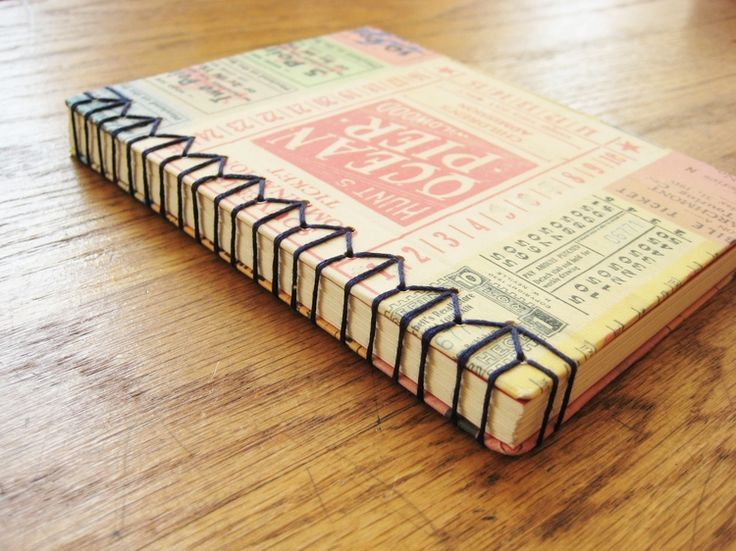 DIY: hand bound journal  This is so cool!  I have to try it!  Think of having all the journals you want, even tips on how to construct it so that you can add pictures, etc, without a page flare resulting.