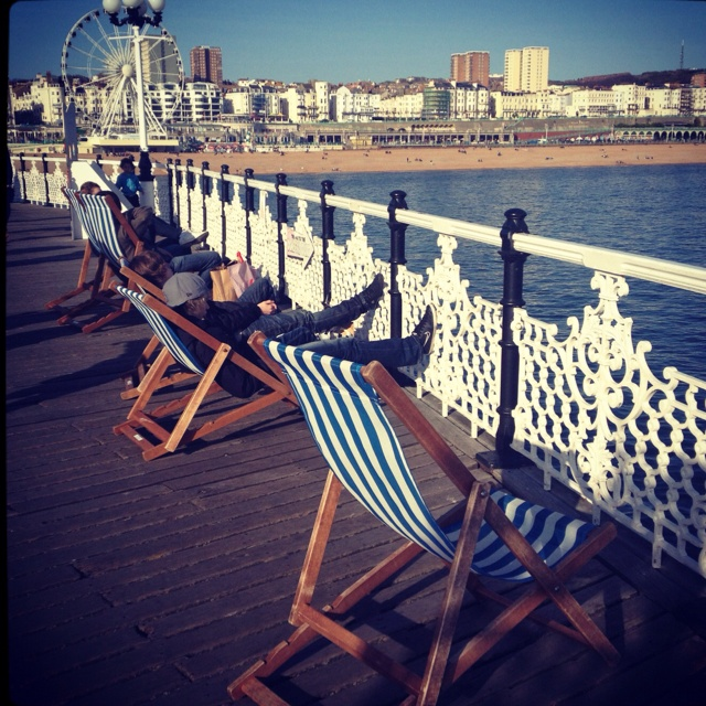 Deck Chairs, Brighton Pier