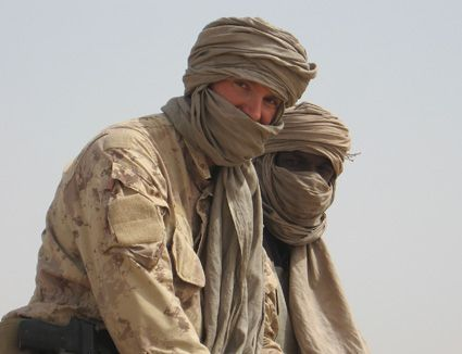 Canadian Special Operations Regiment (CSOR) in the desert. Due to its small size, everyone at CSOR contributes to getting the job done. Regardless of your rank or occupation, the tightly knit CSOR working environment allows your skills and abilities to shine; CSOR personnel are crafting their unit's future.