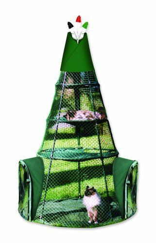 Spiffy Cat Products... Cat Teepee Bed Playhouse. A sweet pet bed for your special friend.  Good for dogs, cats and other small animals.