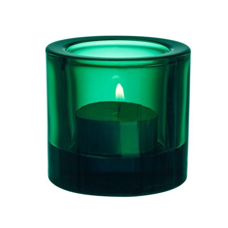 New Kivi from Iittala in gorgeous Emerald Green a new favourite in these ever lovely rainbow of colour tea lights by Marimekko & Iittala