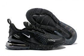online store 5d7da 091f2 Nike Air Max 270 Flyknit Black Silver AH8050 202 Men s Running Shoes  Sneakers