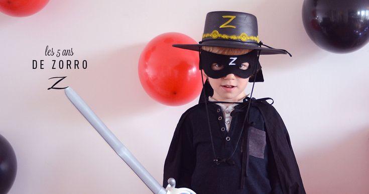 Un Anniversaire Zorro Anniversaire Inspirations