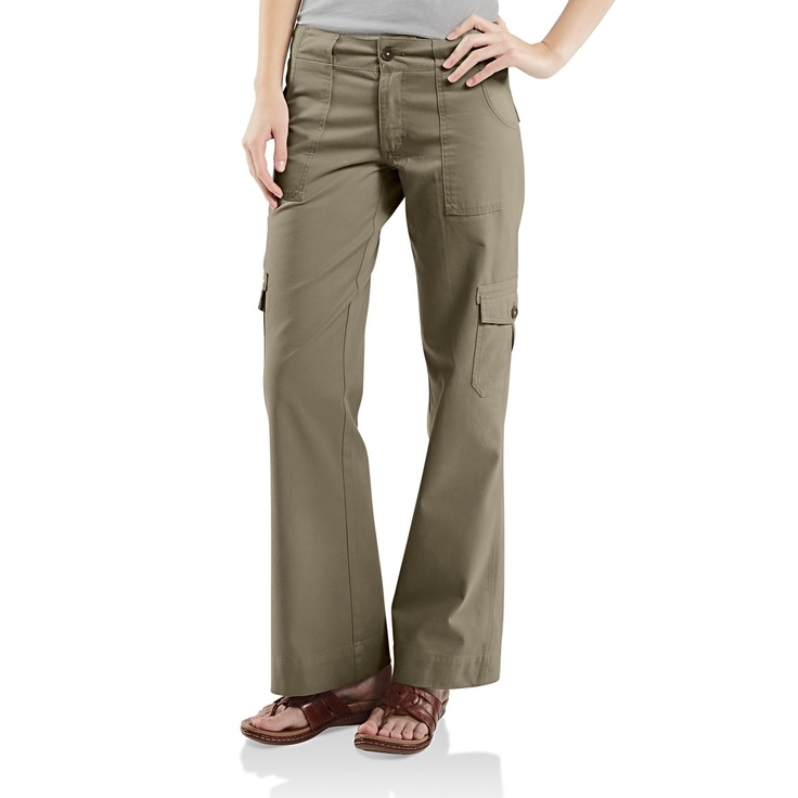 Love these!   Carhartt Cargo Pants (For Women) in Vintage Elm