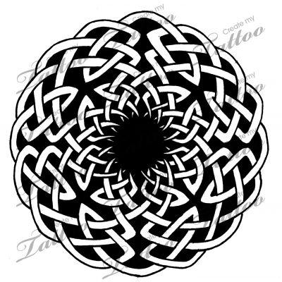 Marketplace Tattoo Celtic Circle Knot 2 #16621 ...