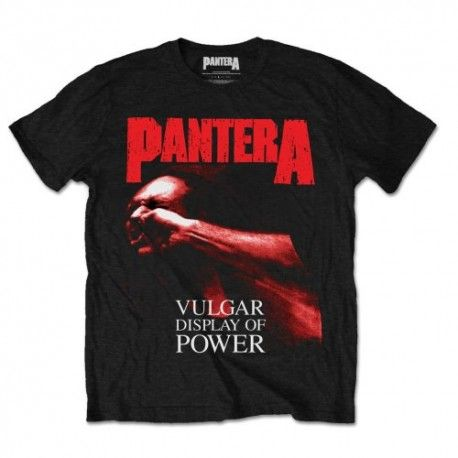 Tricou Pantera: Red Vulgar Display of Power