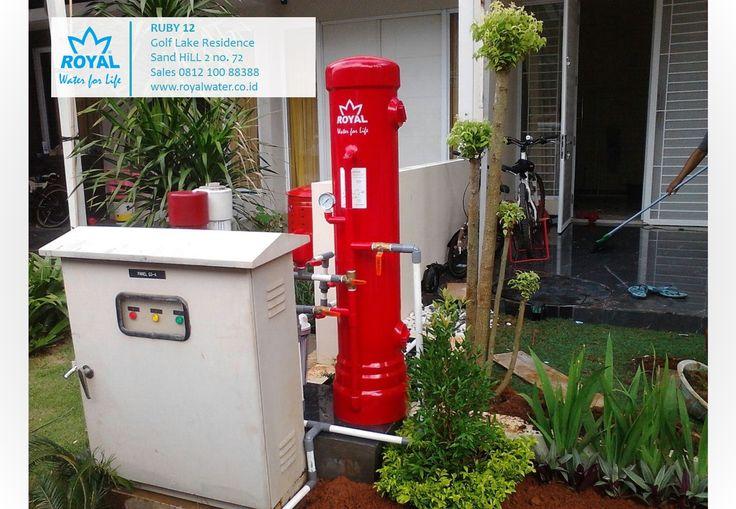 ROYAL-RUBY10 efektif memberikan solusi air bersih untuk permasalahan air kotor, kuning, berbau Zat Besi. sales 0812 100 88388 www.royalwater.co.id