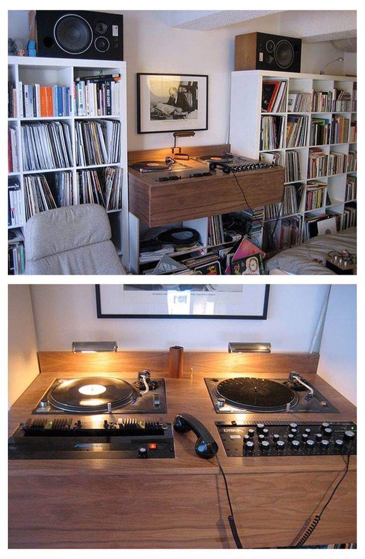 Best Vinyl Record Furniture Images Pinterest Player Collection And