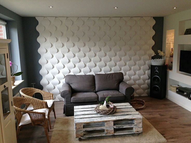 Wandpaneele aus Gips www.loftsystem.de