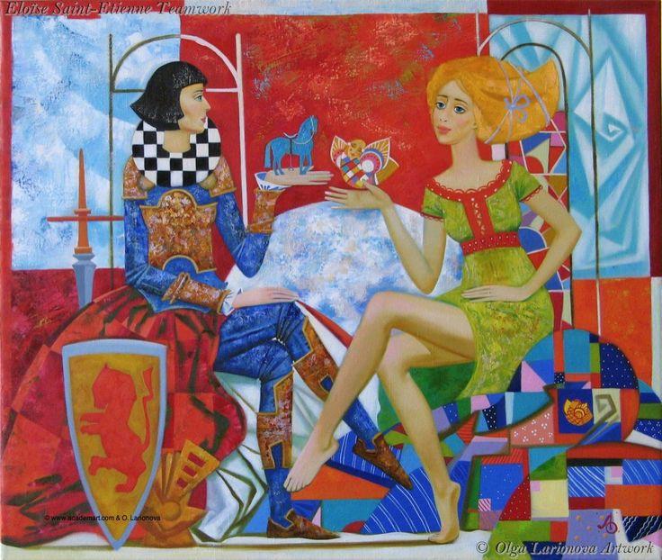 War and Peace by Olga Larionova.