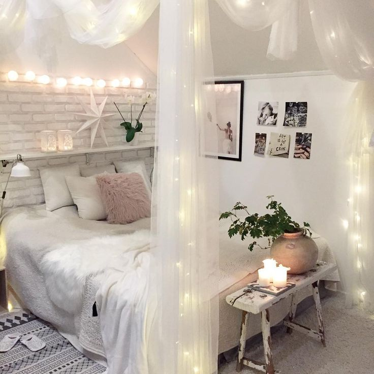 10 id es lumineuses pour d corer son int rieur pinterest sovrum inredning och inspiration. Black Bedroom Furniture Sets. Home Design Ideas