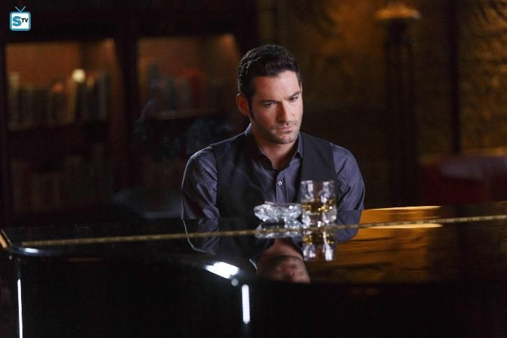 Lucifer - Episode 2.01 - Everythings Coming Up Lucifer - Sneak Peeks Promotional Photos & Press Release