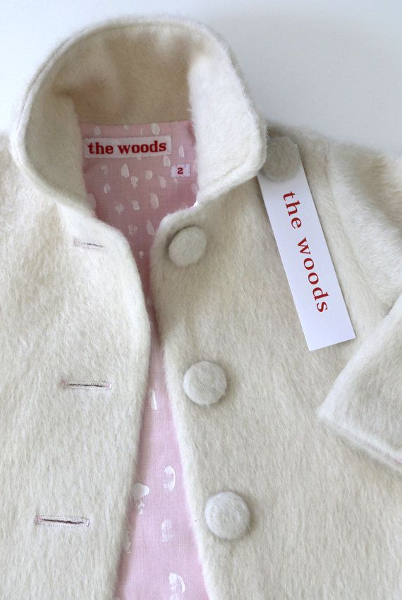 Polar Coat by the woods children