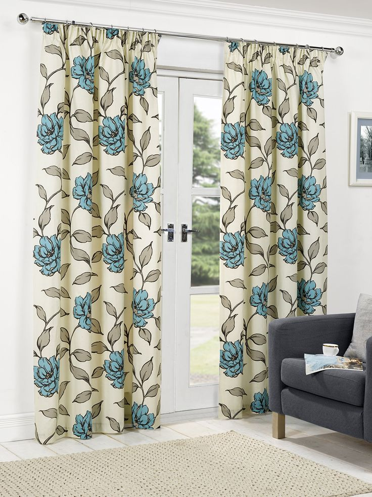 1000 Ideas About Teal Pencil Pleat Curtains On Pinterest Pleated Curtains Bedroom Paint