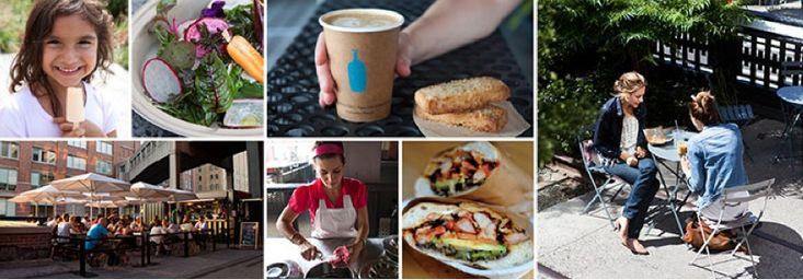 high line - new york - street food - parco urbano