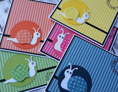 Crea-spul van Colien: 5 x Snail mail