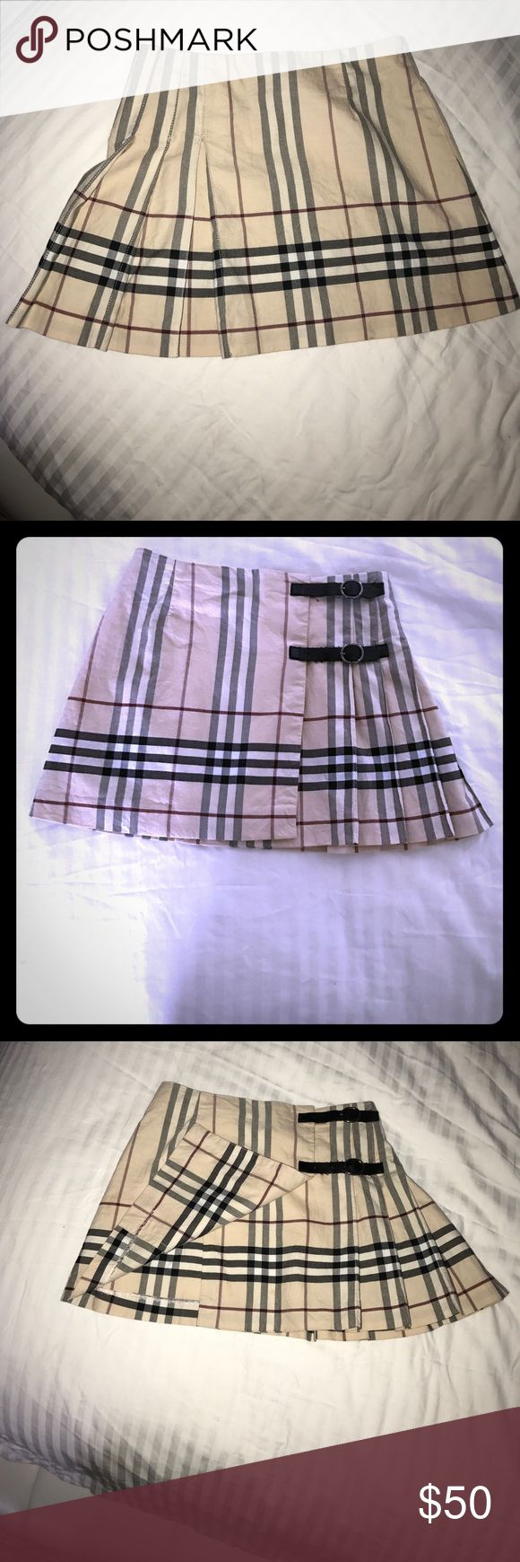 Burberry little girls skirt Little girls size 5 Burberry skirt in good condition no stains no rips. Burberry Skirts