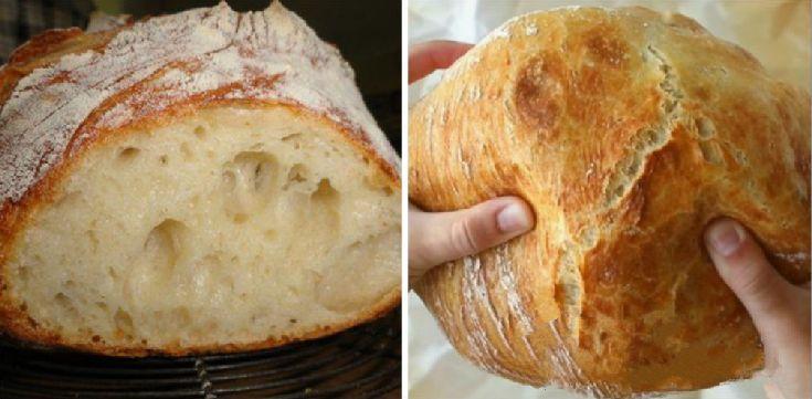 Brot (weich und knusprig)